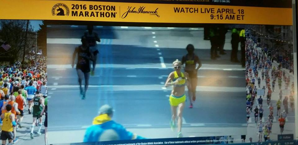 2016 Boston Finish Line